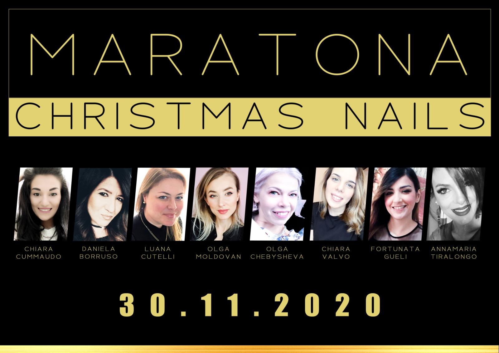 MARATONA CHRISTMAS NAILS